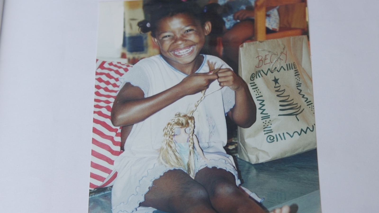 Becky was one of the first children in South Africa to benefit from therapy.